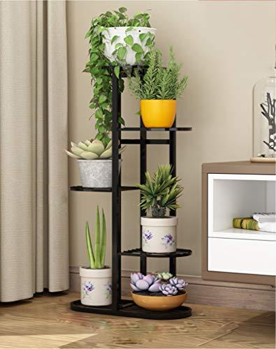 Garden Outdoors EtagèRe à Pot PréSentoir à Pot à Plantes à Plusieurs Niveaux en MéTal Facile Assembler Et Installer pour La DéCoration ExtéRieure Et IntéRieure