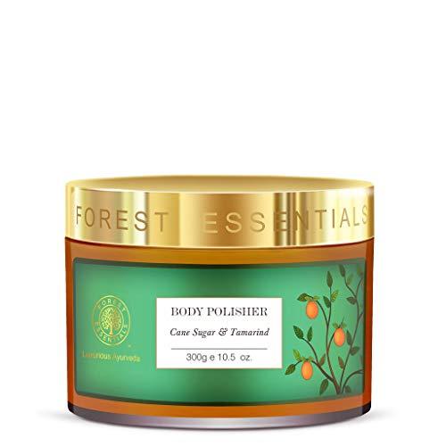 Forest Essentials Gommage – Sucre de canne et tamarinier 300 g