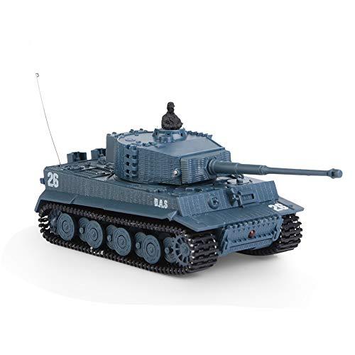 Voluxe Tanque de juguete, 1/72 tanque de juguete 4 canales RC tanque de juguete, control remoto tanque de juguete 1/72 escala para niños de la familia