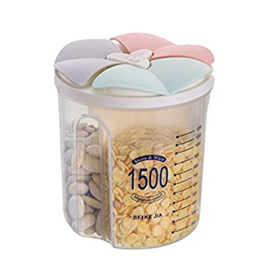 LANGMAN Airtight Food Storage Containers Durabl...