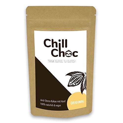 ChillChoc | Anti-Stress-Trinkschokolade, Kakao | warm und kalt genießen, Top-Geschenke (Original_alt, 100)