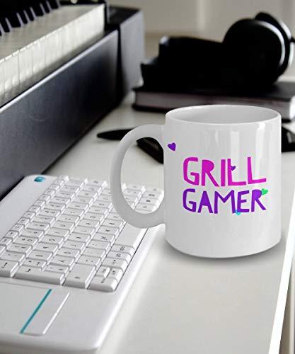 Eli231Abe Gamer Meisje Mok Gamer Koffie Mok voor Meisjes Grill Gamer Gift Idee voor Een Vrouw Vriendin Of Zuster Gamer