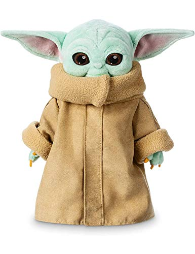 Child Yoda Plush Figures Toy Animal 12inch Cute Stuffed Doll for Fans and Birthdays Role-Playing Festivals
