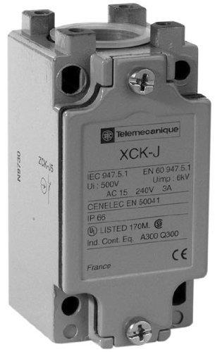Telemecanique Sensoren ZCKJ5 Limit Schakellichaam met Beeldscherm, Metaal, Vast, 2 Palen, 1NC + 1NO Contacten, Pg13, 40 mm Breedte x 77 mm Hoogte x 44 mm Diepte