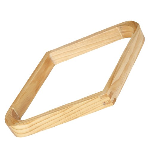 Billardkugel Holz neun Ballständer Diamant Rack in Oak