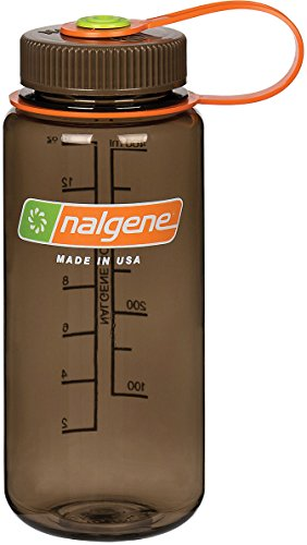Nalgene Tritan Wide Mouth BPA-Free Water Bottle, Woodsman, 16 oz