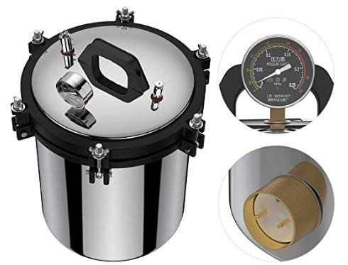 CN Plug Doppelheizung 18L XFS Autoklaven Sterilisatoren, Dampfsterilisator, Autoklavensterilisator für Dampf Autoklaven Druck Autillaven Dampf sterilisieren Dampf