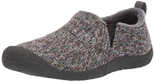 KEEN Women's Howser II Shoe, Grey Multi/Raven, 7 M US