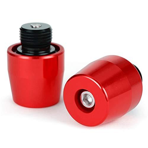 HJXV / Ajuste para-Benelli-leoncino 500 Leoncinox/Motorcycle Anti-Vibration Plug Plug  Cuadro De Manillar  Accesorios De Mango De La Motocicleta. (Color : Red)