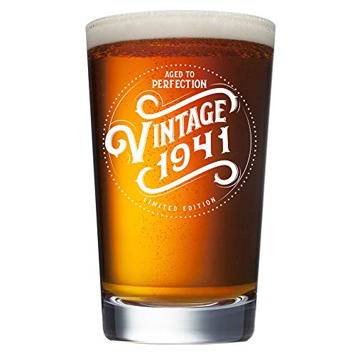 1940 Aged to Perfection 80th Birthday Beer Mug