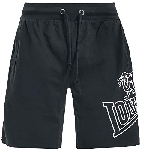 Lonsdale London Herren CHILLEY Shorts, Black, L