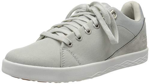 Jack Wolfskin Damen Auckland Ride Low W Sneaker, Grau (Light Grey/White 6121), 39 EU