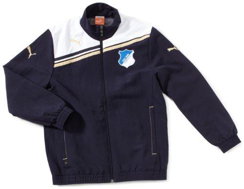 PUMA Kinder Jacke TSG 1899 Hoffenheim Woven, New Navy, 164, 739348 01