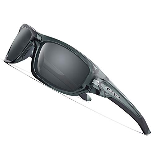 TOREGE Polarized Sports Sunglasses For Men Women Cycling Running Fishing...