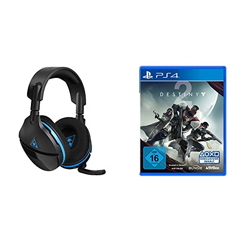Turtle Beach Stealth 600 Kabelloses Surround Sound Gaming-Headset + Destiny 2 - Standard Edition [PlayStation 4]