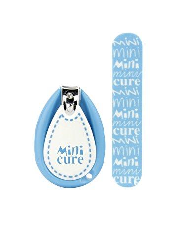 MINI CURE Kit de soin des ongles pour les nourrissons - Bleu