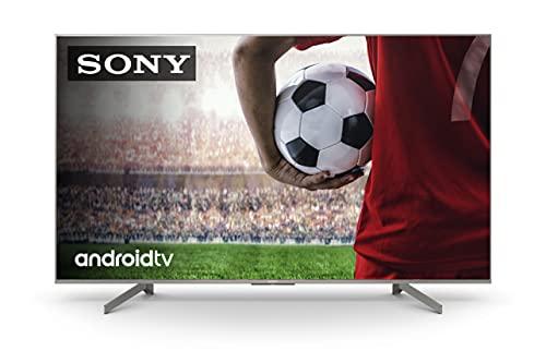 Sony KD-65XH8196 -Televisor 4K HDR (procesador X1 4K HDR, Triluminos, 4K X-Reality PRO, MotionFlow XR, X-Balanced Speaker, Dolby Vision, Dolby Atmos, mando con control por voz), Compatible con Alexa