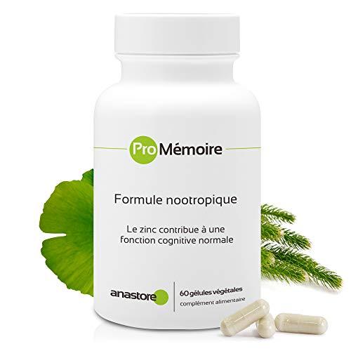 PRO MEMORIA * 337 mg / 60 cápsulas * Fórmula nootrópica