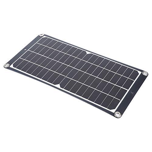 JIUA 20W Panel Solar Tablero De Carga Cargador Solar Portátil para Viajar Escalando Camping Uso De Paneles Solares Suministros Al Aire Libre