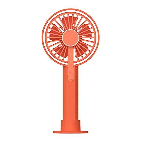Mini Fan Silent Fan Elektrische handventilator met 5 vleugels, 3 snelheden, USB-oplading, voor op reis thuis en buiten