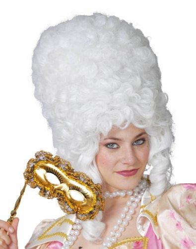 Fiestas Guirca Perruque Femme époque Demoiselle d'honneur