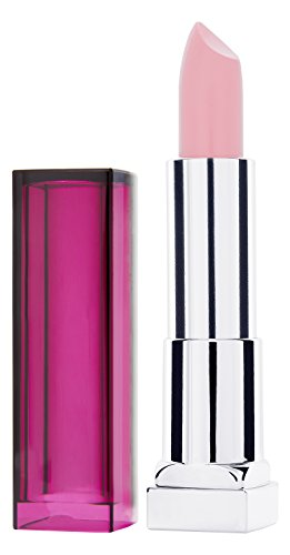 Maybelline New York Make-Up Lippenstift Color Sensational Lipstick Pink Pearl / Glänzendes Rosa mit...