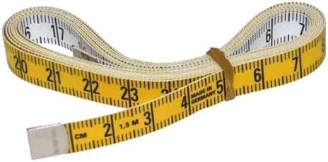 Gorgeous Max 68% OFF Corvus A600076 Measuring Yellow Tape 150cm