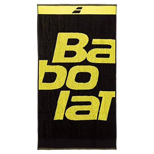 Babolat Handtuch Tennis Padel, Schwarz / Gelb