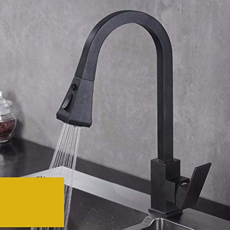 XHSSF-Küchenarmatur Kühle und heie Flower Sprinkler Draw Faucet in Küche Waschkanne,B