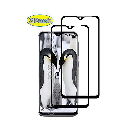 LPCJ Protector de Pantalla Samsung Galaxy A20E, [2 Piezas] Cristal Templado, [Cobertura [Dureza 9H] [Alta Definición ],Protector Pantalla para Samsung Galaxy A20E