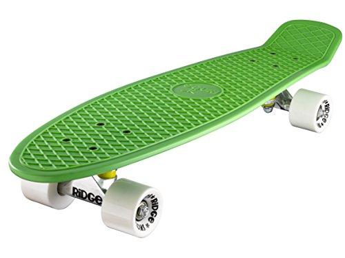 Ridge Retro 27 Skateboard, Unisex, Verde, 69 cm