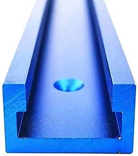 Mitre Track Jig, Blauw Aluminium T-Track T-Slot Mijter Track Jig Gereedschap voor Houtbewerking Freestafel 800/1000/1220m...