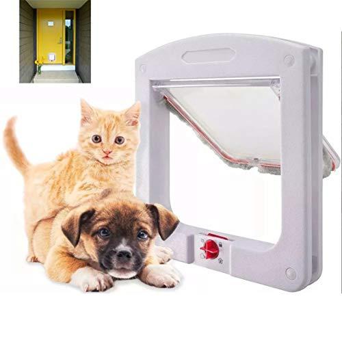 Porta Portinha De Passagem P/Gato Cachorro 4 Em 1 Pet
