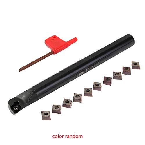 Guangcailun S16Q-SCLCR09 Bohrstange 16mm Schaft-Drehwerkzeug-Halter CCMT09T3 Stahleinsätze T15 Schraubwerkzeug