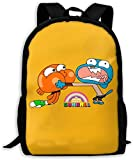 Sac de Marin Scolaire Backpack Travel Hiking The Amazing World of Gumball Brother...