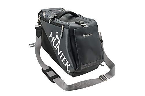 HUNTER SKIEN Tragetasche, Reisetasche für Hunde und Katzen bis 8 kg, 24 x 20 x 30 cm, schwarz