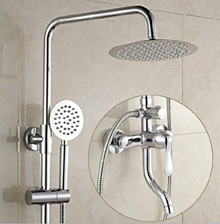 LXFMD Kupfer duschset duschset badewanne dusche dusche badewanne hubstangenmischventil