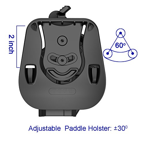 3. Thumb Release Holster Compatible with Glock 19 19X 23 32 44 45