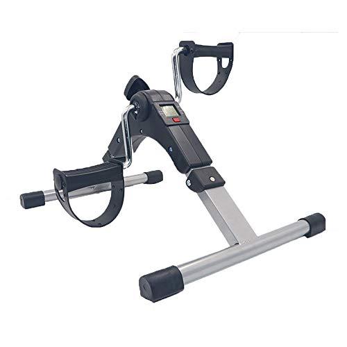 Ice-Beauty-ukzy Mini Pedal Estático Bicicleta Estática para Ejercicios con Pedal, Bicicleta Plegable, Conveniente para La Intensidad del Ejercicio Familiar Y La Pierna Extendida Tobillo Pierna