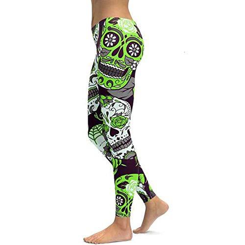 TAWXR Las mujeres Únicos Pantalones de Fitness Entrenamiento Deportes Correr Leggings Sexy Push Up Gym Wear Elástico Slim Pantalones