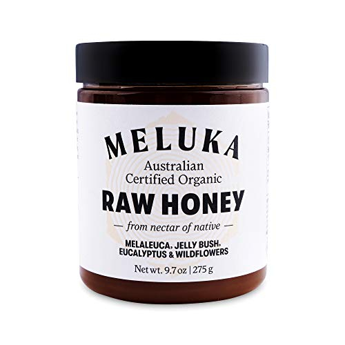 Meluka 100% Pure Premium Unfiltered Native Australian Raw Honey