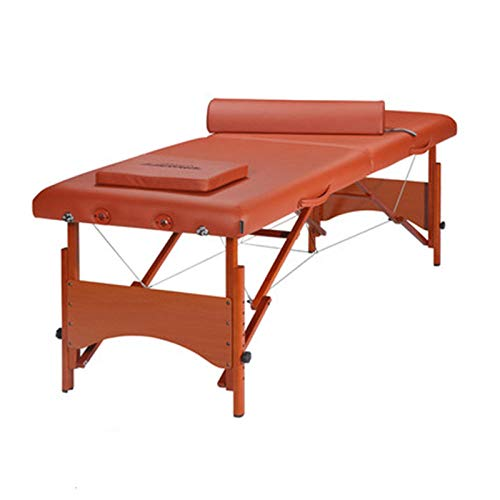 Buy Household Folding Portable Massage Bed Beauty Bed Solid Wood Massage Massage Bed Bed Cinnamon