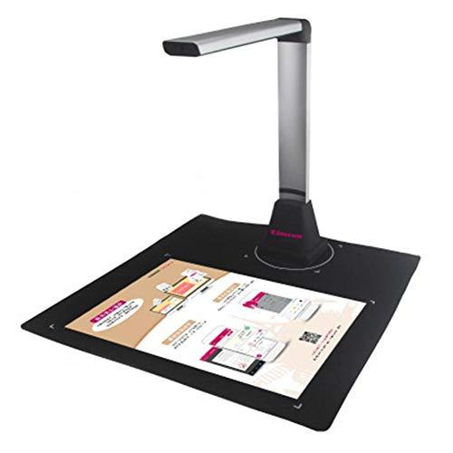 talogca Dokumenten Scanner Professionelle Kamera 10 Millionen Pixel HD-Scanner mit 5 LED Fülllicht für Office Ocr Text Anerkennung Archiv