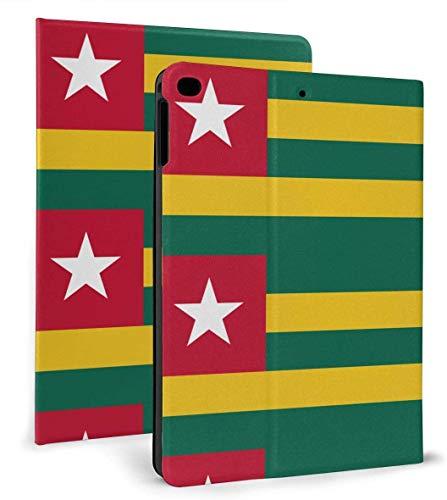 Togo Flag PU Leather Smart Case Función de Reposo / activación automática para iPad Mini 4/5 7,9 'y iPad Air 1/2 9,7' Funda
