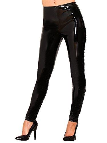 Honour PVC Leggings Zwart UK 8 (XS), PVC kleding, Vinyl kleding, Glanzende Kleding