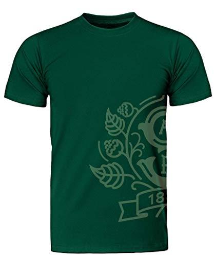 Staropramen Official Merchandise | Herren T-Shirts Siegel | Grün | Original Tsechische Bier (L)