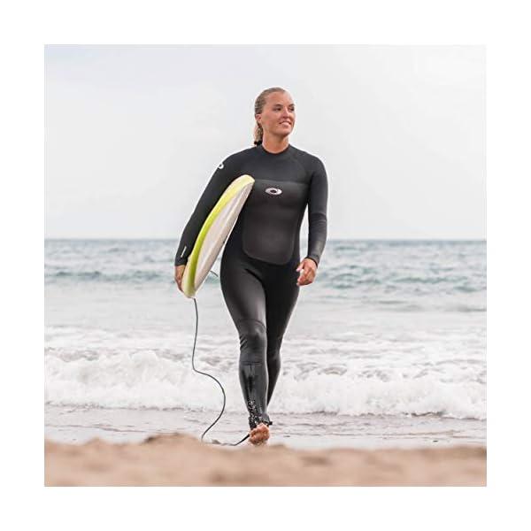 Osprey Womens Full Length 5 mm Winter Wetsuit, Adult Neoprene Surfing Diving Wetsuit, Origin, Multiple Colours