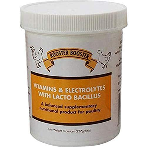 Rooster Booster Vitamins and Electrolytes with Lactobacillus, Natural, 8 oz.