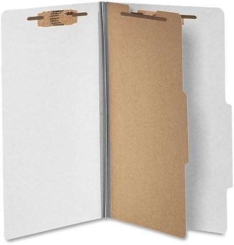 Wilson Jones Klassifizierung Ordner mit Verbindungselementen, PressSpaß, 4tlg, Legal Größe, Grau, 10 o Box (a7016054)
