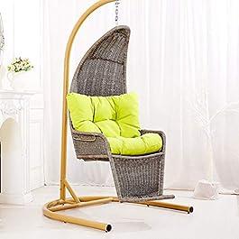 Hmvlw Chaise Suspendue Balcon Balancelle en rotin rotin Hanging Cage Lazy Sofa Loisirs Chaise Hanging intérieur et…